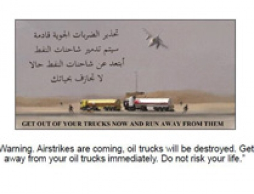 Lawfare post on 'Targeting ISIL Oil Transport Trucks'