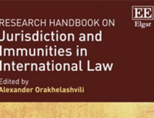 The Status of Armed Forces in Public International Law: Jurisdiction and Immunity