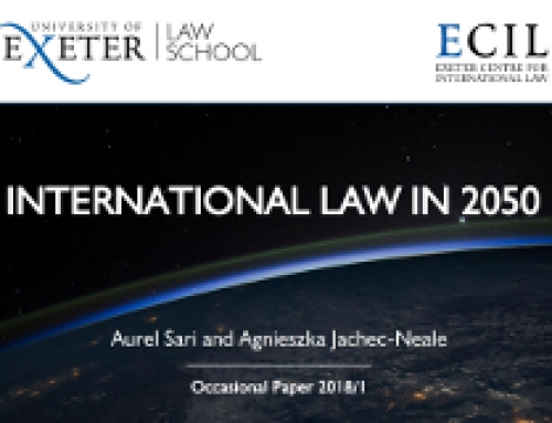 International Law in 2050