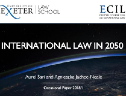 International Law in 2050
